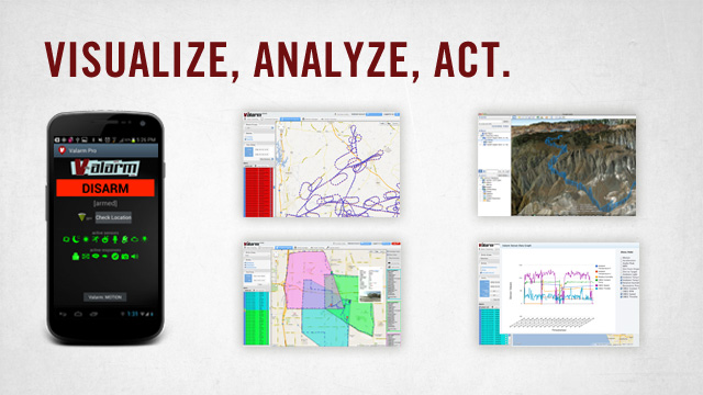 Visualize, Analyze, and Act with Valarm!