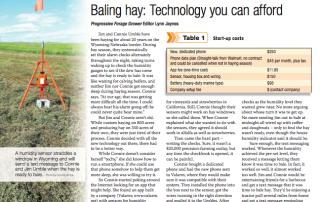 Valarm Bailing Hay Sensor Monitor Humidity Temperature - Progressive Forage Grower Magazine January 2014
