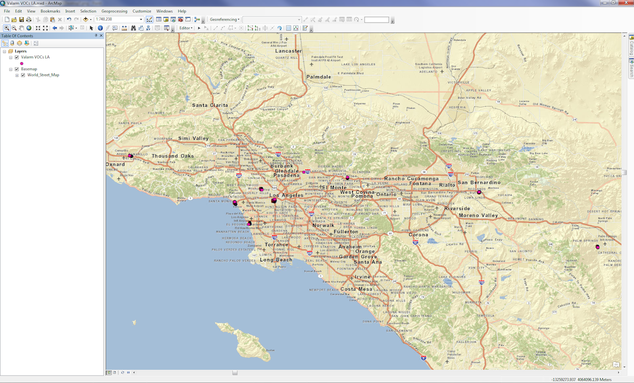 Valarm Remote Monitoring  Industrial IoT Applications  How - Los angeles pollution map