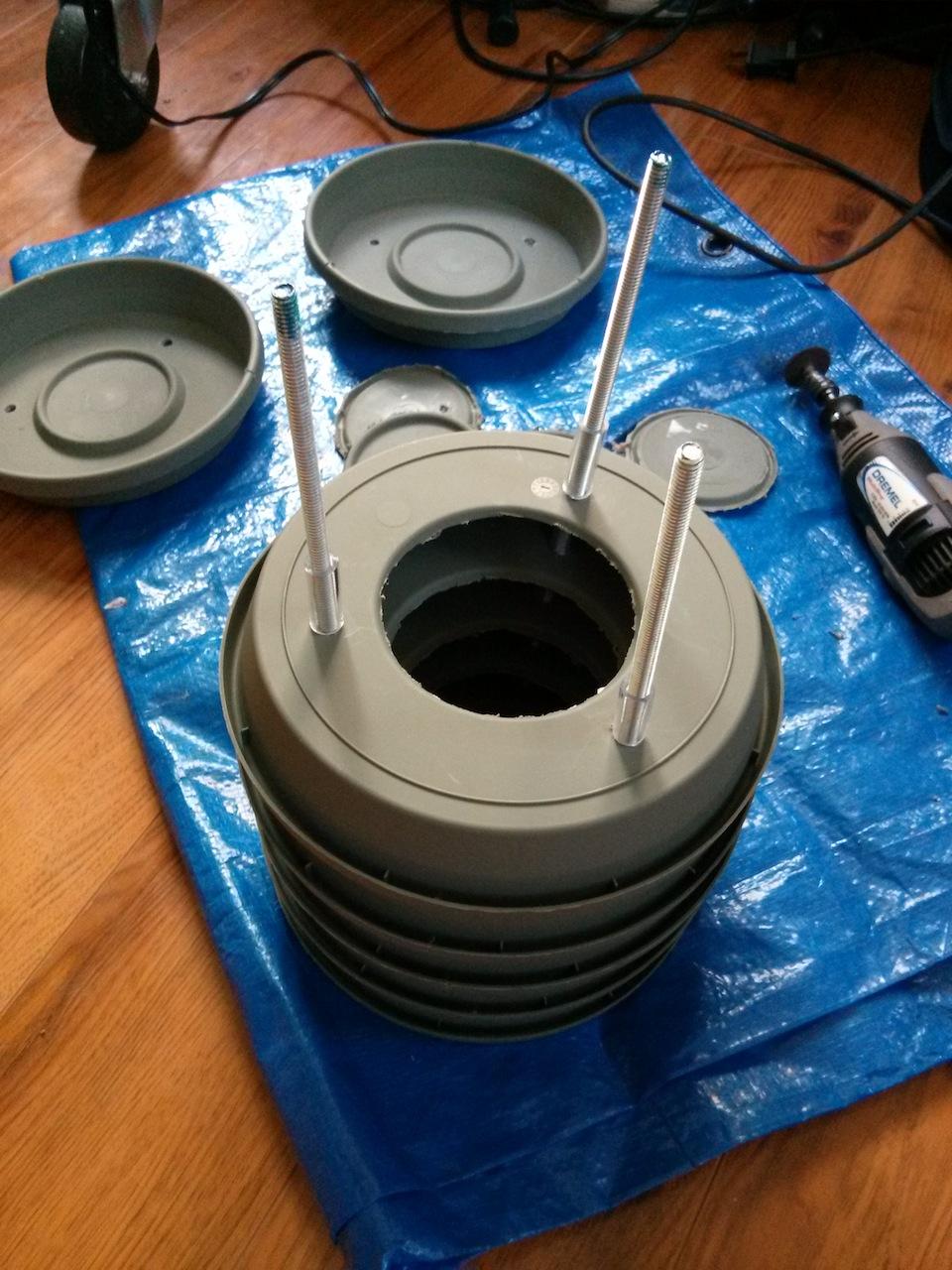 Valarm Pagoda Stack Plates