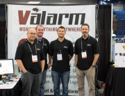 Valarm Team At Booth during Esri PUG 2014