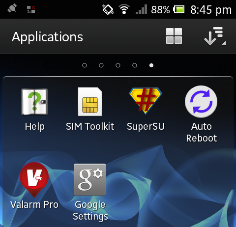 Valarm root sony android devices xperia u st25 1 cropped