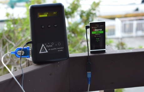 Cost-Effective Air Quality Monitoring – PM2.5, dust, pollen, more