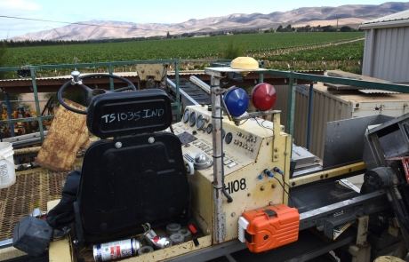Precision Agriculture – Real-Time Monitoring of Wine Grape Harvesters