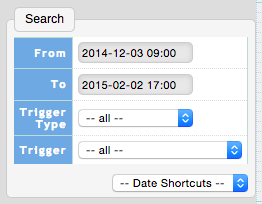 Valarm Tools Cloud From To Date Selector Time Stays Same Between Features