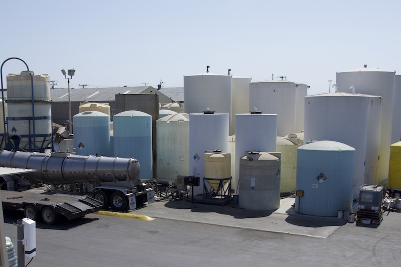 Valarm Monitoring Tanks and Liquid Levels at AGRX California
