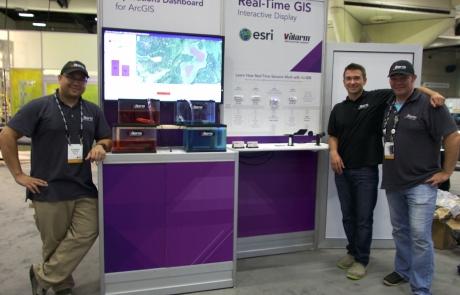Real-Time Sensors + Monitoring at Esri User Conference 2015