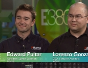 Valarm Lorenzo & Edward Interview Esri E380 Live partner conference dev summit 2015 remote environmental monitoring mobile sensors real-time sensor telemetry