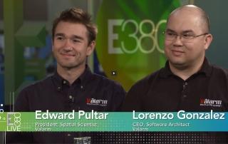 Valarm Lorenzo & Edward Interview Esri E380 Live partner conference dev summit 2015 remote environmental monitoring mobile sensors real-time sensor telemetry