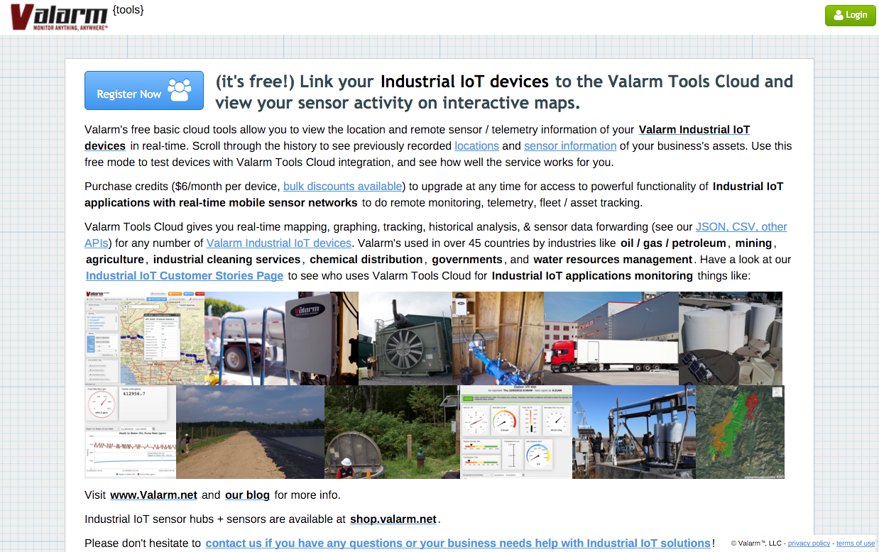 Youtube thumbnail for Valarm Tools Cloud - Overview of Features for Industrial IoT, Remote Monitoring, and Sensor Telemetry