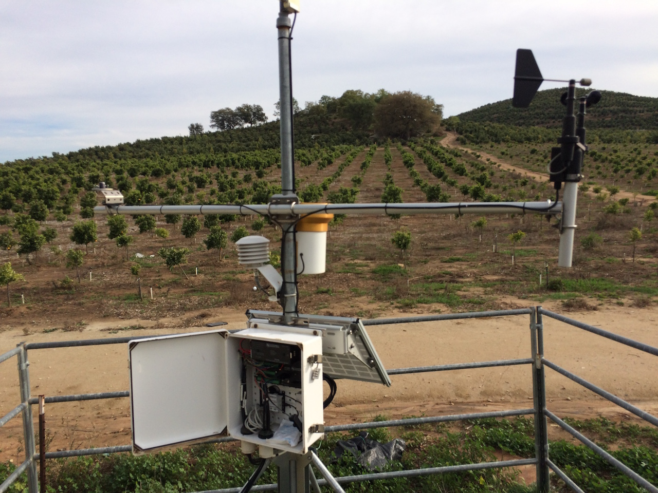 Valarm Tools Cloud with Campbell Scientific and Vaisala Sensors for Remotely Monitoring Weather and Wild Fire Risk 2