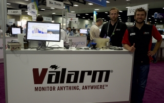Industrial IoT Remote Monitoring Sensor Telemetry Esri ArcGIS UC GIS 2016 Valarm Booth Monitor Water and Air Quality