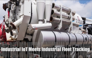 Youtube screenshot thumbnail Fleet Tracking for Industrial Vehicles Meets Remote Industrial IoT Sensor Monitoring