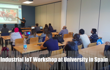 Industrial Internet of Things / IoT Workshop in Spain – How to Remotely Monitor Air Quality, Water, Vehicles, Industrial Equipment, and Anything Else with Sensors + Tools.Valarm.net