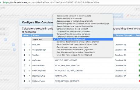 Tools.Valarm.net Calculators – Automatically Convert Temperatures Celsius to Fahrenheit