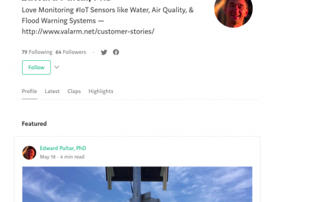 Experiences and Customer Stories about Remote Monitoring and Industrial IoT in Medium Articles