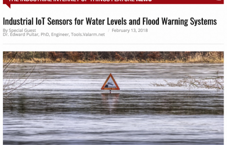Industrial IoT Sensors for Water Levels and Flood Warning Systems – IoT Evolution World Story