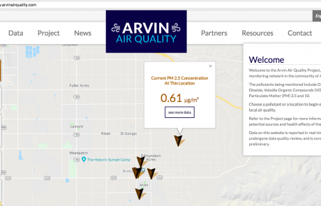 Air Quality Monitoring in California