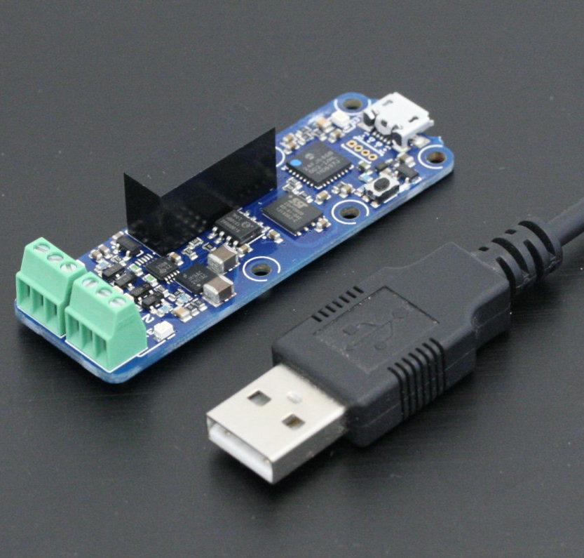 Valarm-compatible Yoctopuce 4-20 mA USB sensor.