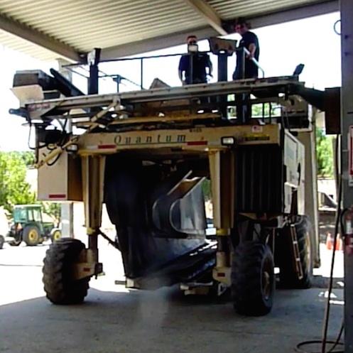 Valarm Monitoring Harvesters at Scheid Vineyards Blog Post 1 - 1