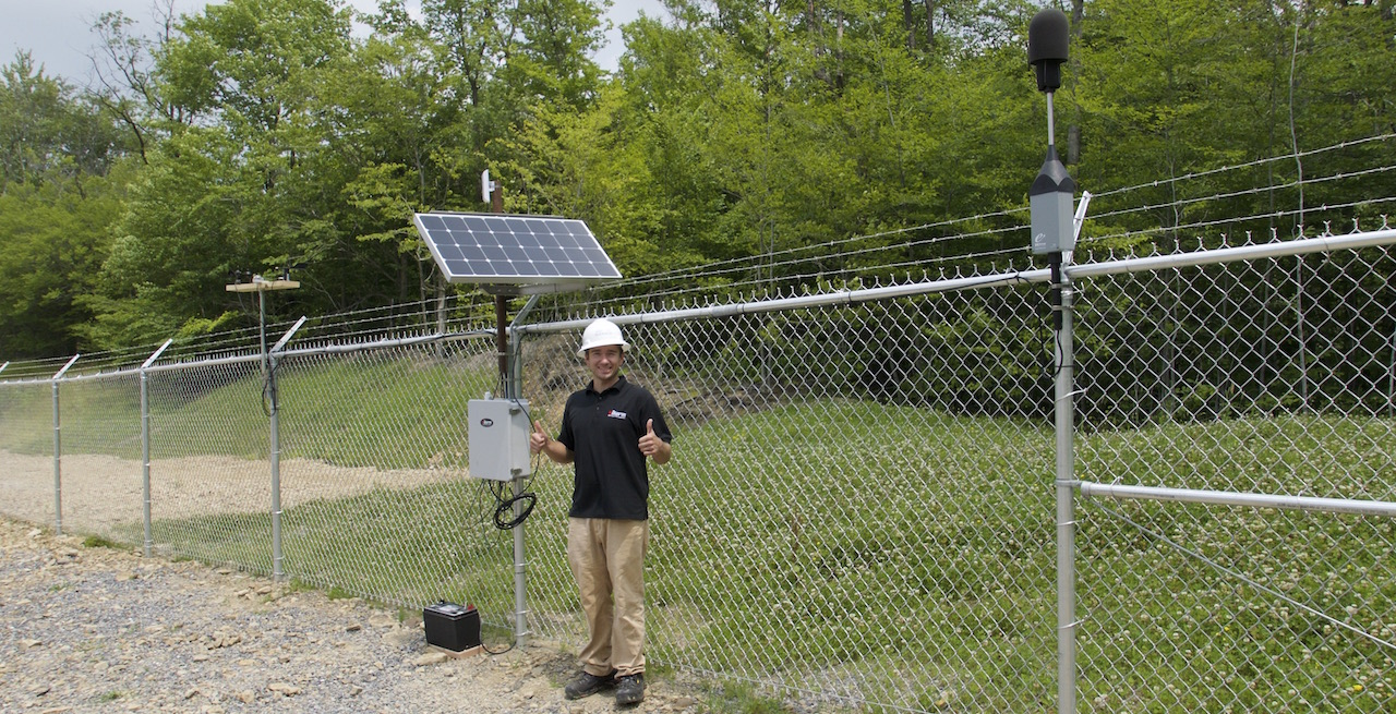 Valarm Noise Sound Sensor Monitoring Seneca Resources Oil Gas Upstream O&G Telemetry Remote Environmental Monitoring Real-Time 9