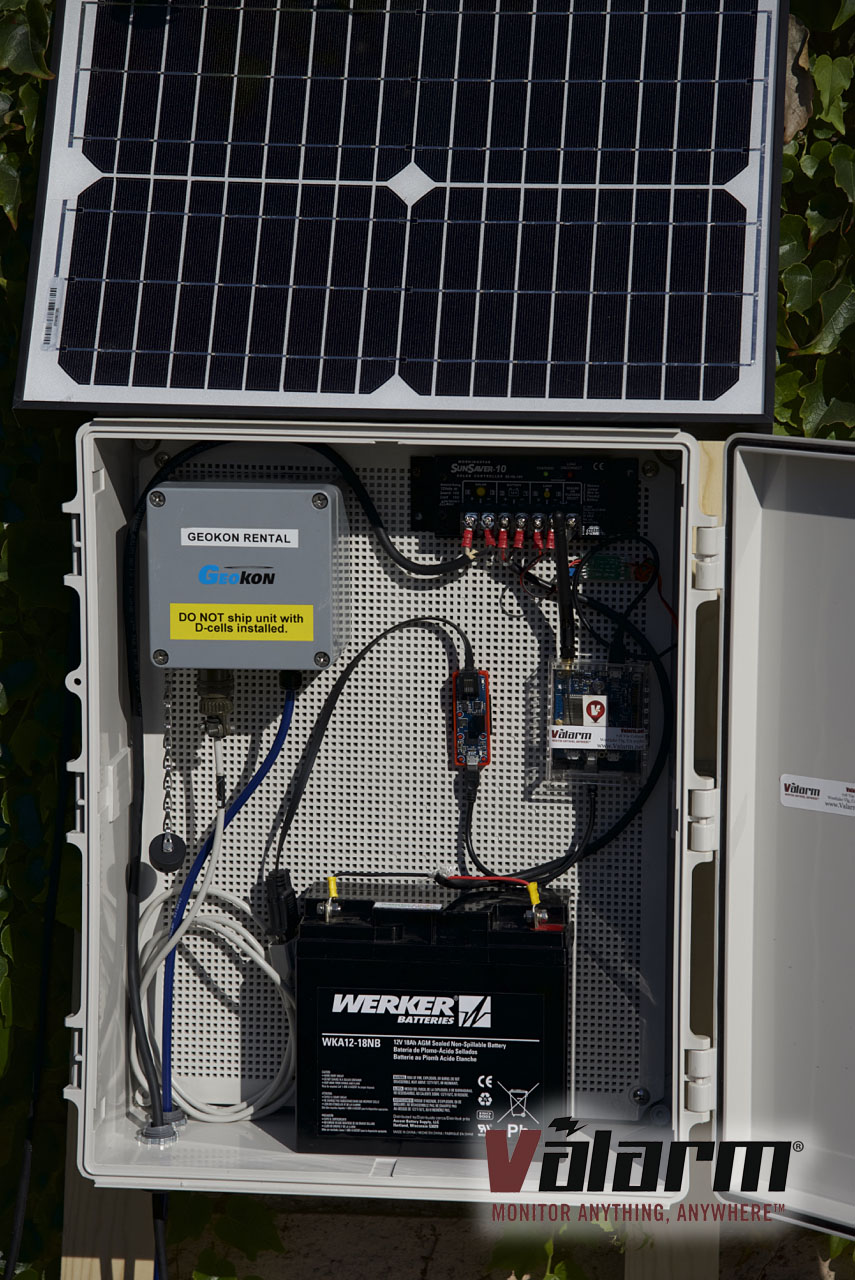 Valarm-Geokon-WiFi-Telemetry-Solar-power