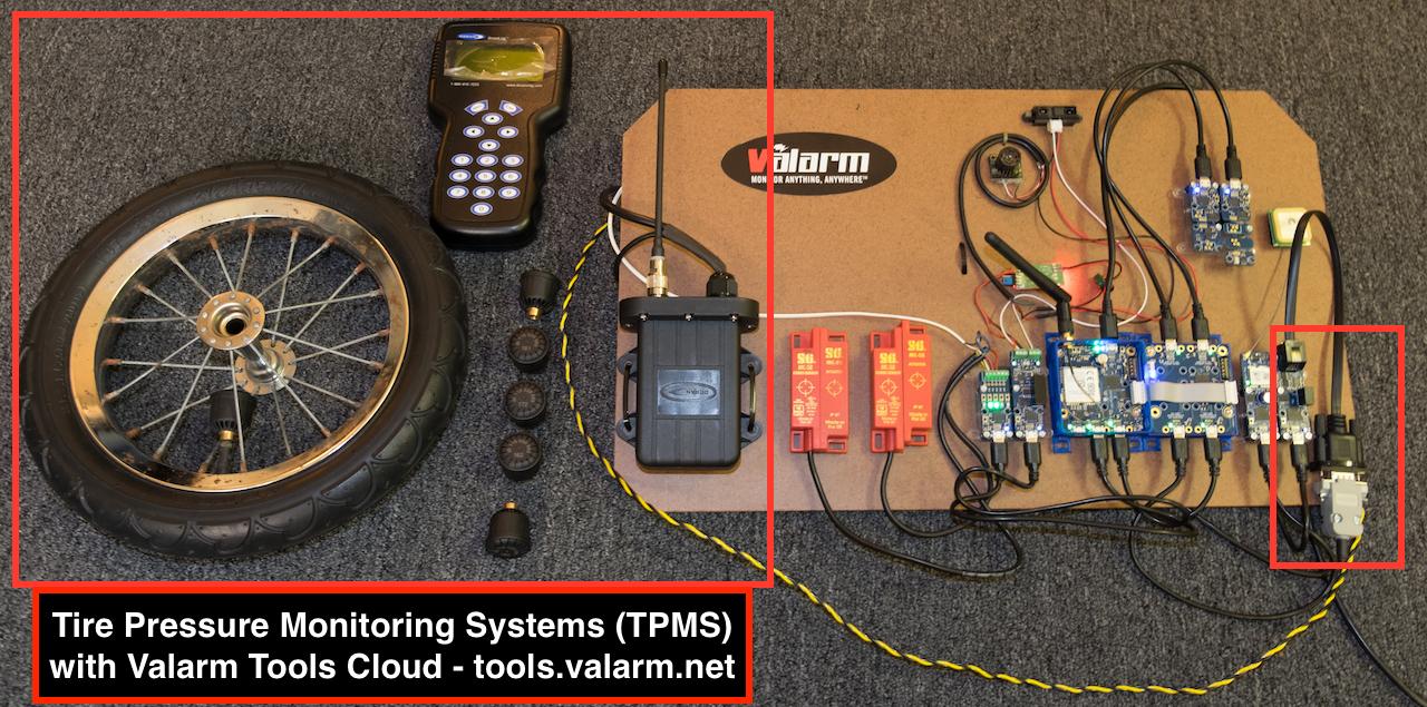 4 Pcs TPMS with USB Car Tire Alarm Pressure Monitoring Sensors Temperature Alarm