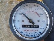 Mccrometer meter Cubic Feet