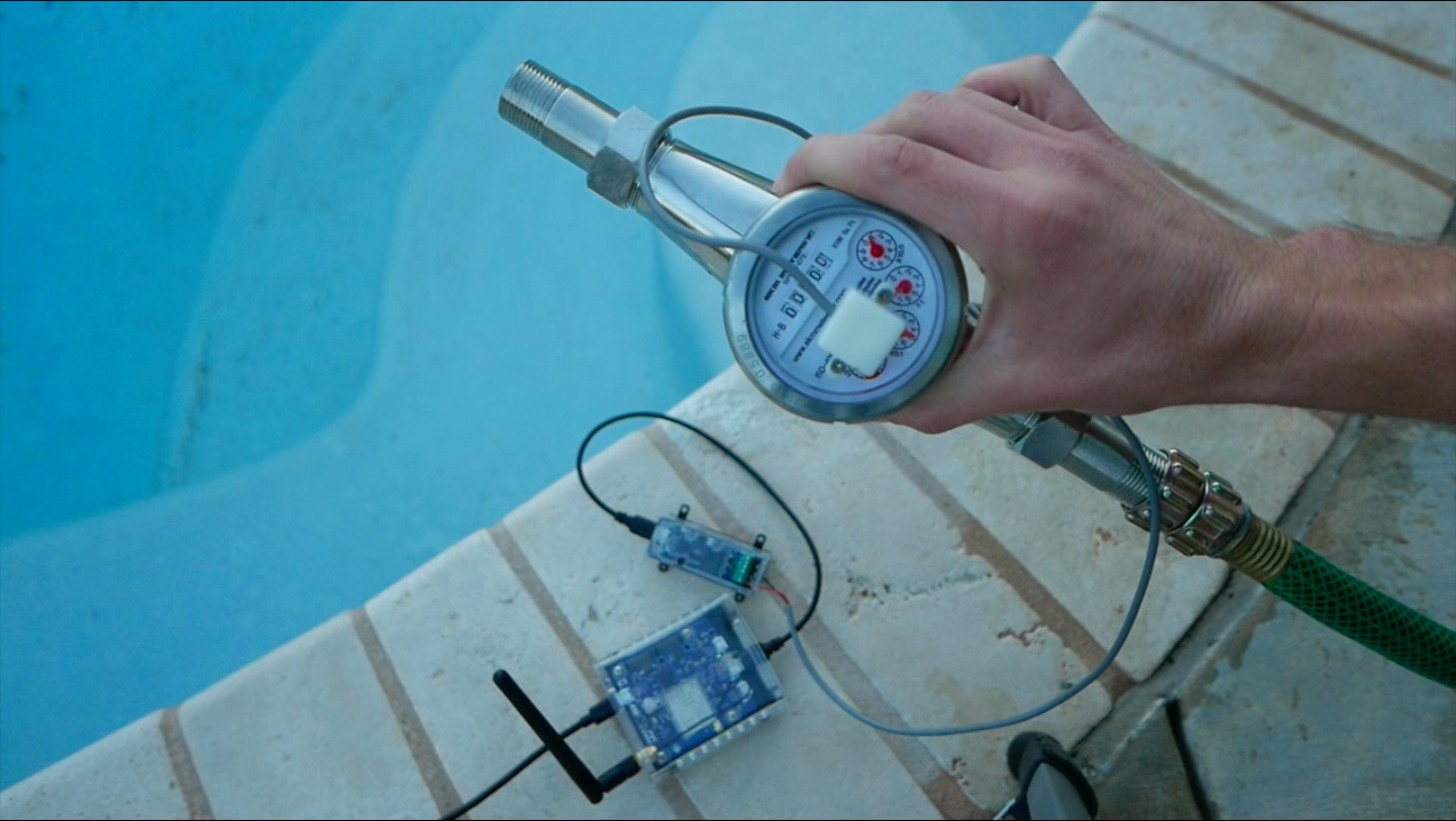 YouTube Thumbnail Water Usage and Flow Meter Monitoring - Valarm Industrial IoT Sensor Telemetry Real-Time Remote Monitor