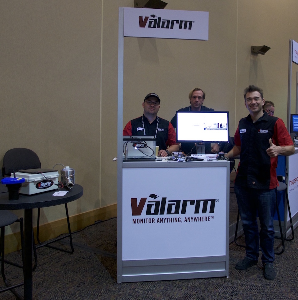 Valarm Esri Partner Conference 2016 Industrial IoT Remote Montoring Real-Time Sensor Telemetry blog post featured image