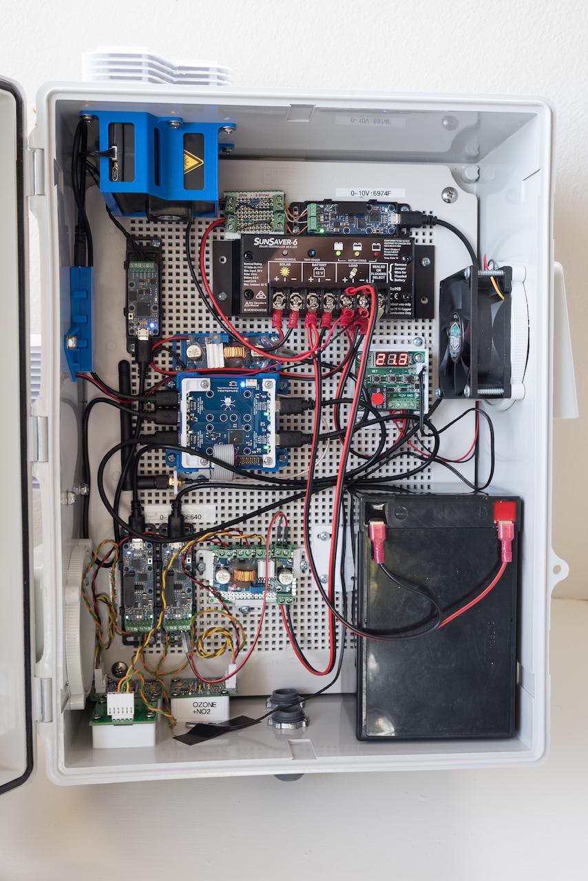 Tools Valarm net – Air Quality Monitoring – Ozone / O3, VOCs