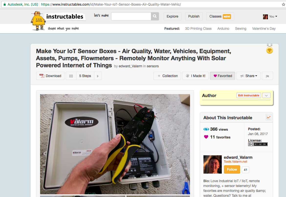 Tools Valarm net – You're a Winner! Instructables Green Electronics