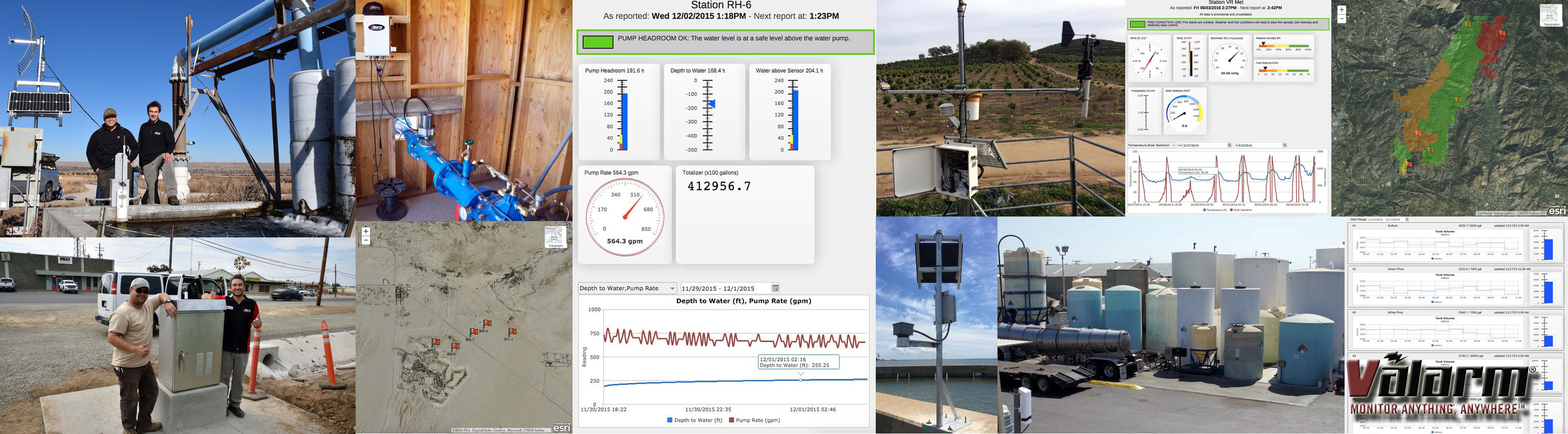 IoT Water Monitoring Systems Water Wells Flood Warnings Levels