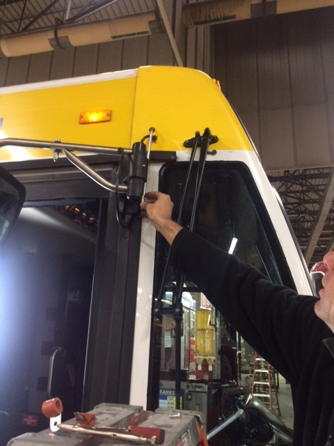 Installing Water and Air Quality Sensors on a Bus